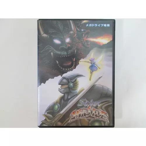 Super Hydlide Original Completo Para Sega Mega Drive