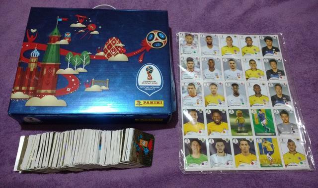 Box Premium Album da Copa Do Mundo Russia
