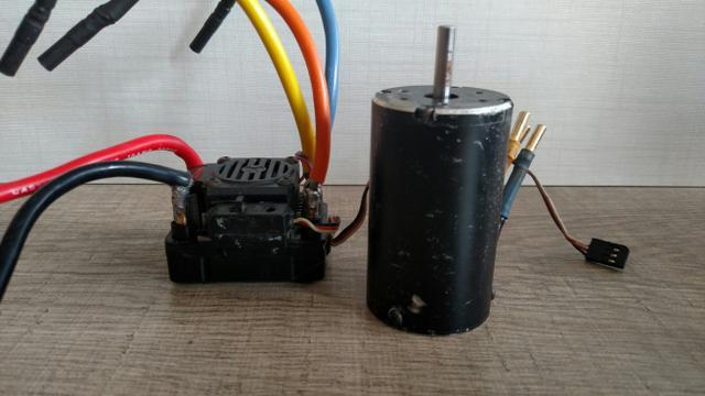 Combo Motor Xerun 6s sensorado Esc Orion 4s Automodelo