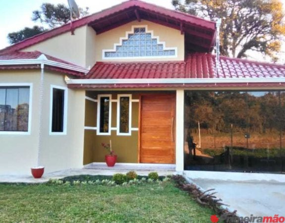 Linda Casa em Campo Alegre SC Com Terreno de  M²
