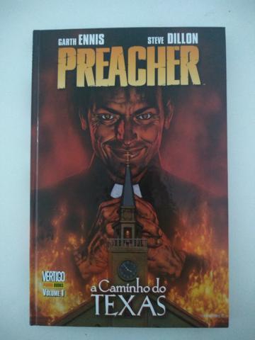 Preacher Panini Edições 1 a 4 Usadas
