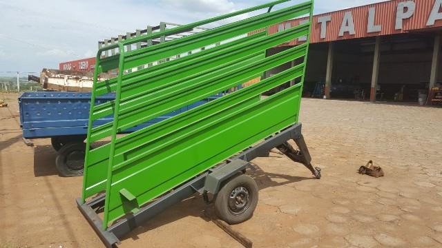 Embarcador de gado móvel