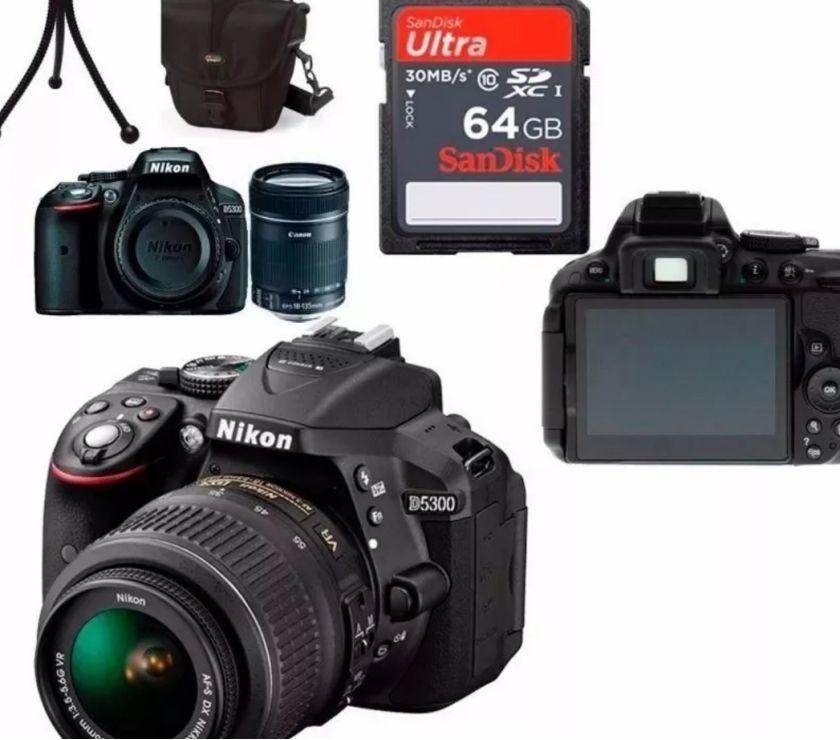 Nikon D Completa Perfeito estado 7 meses de uso
