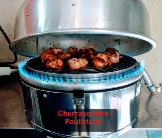 Churrasqueira Paulistano A Gás Gourmet