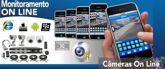 Venda e Instalação de Câmeras e Equip. de Segurança