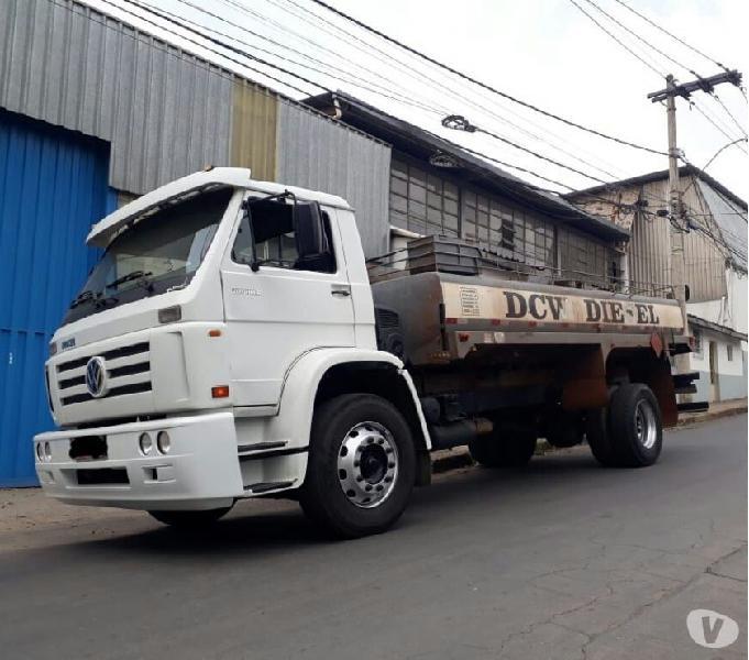 Caminhão Pipa Ano 2008 VW 15180 Tanque 10 mil litros