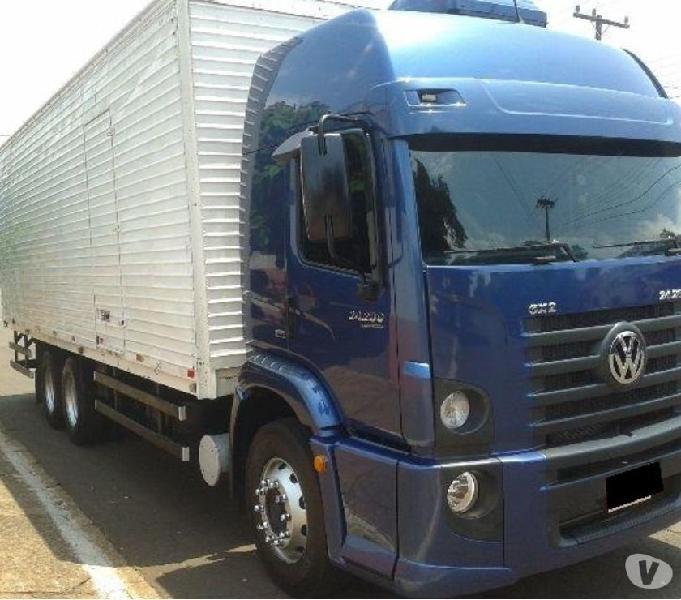 VW 24280 Trucado com Baú de 10.50 mt completo 201818