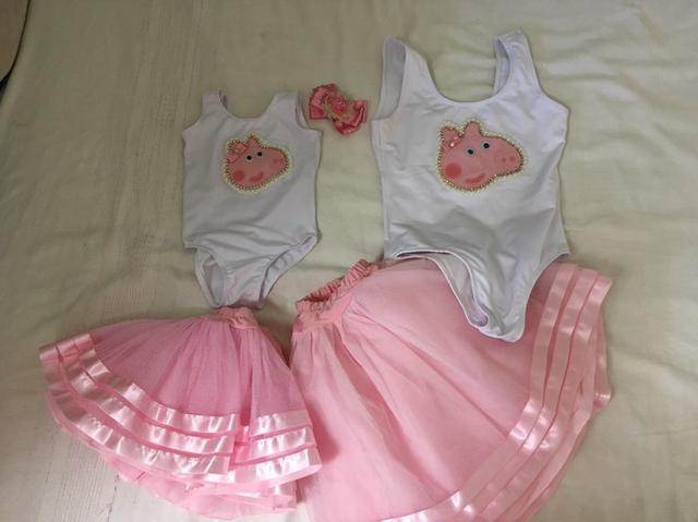 Roupa mãe e filha Peppa Pig
