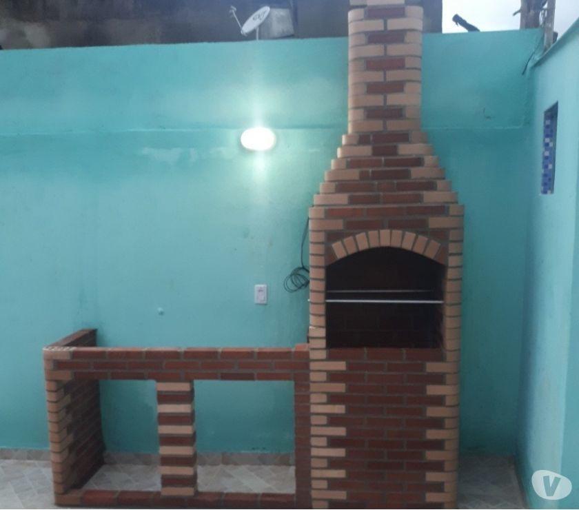 Churrasqueira de tijolos