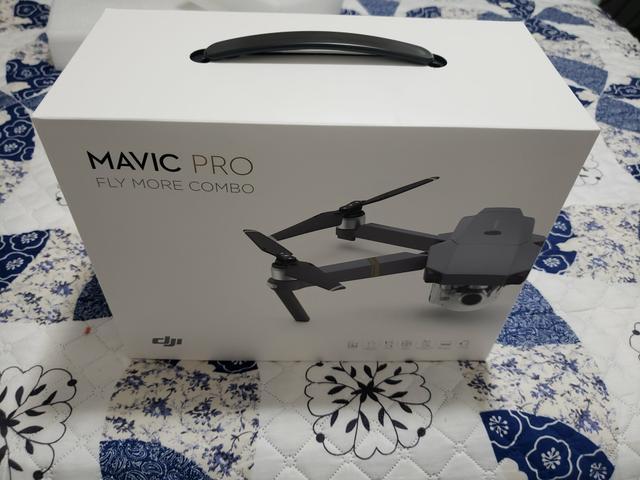 Drone Mavic pro Fly More Combo Nunca foi usado