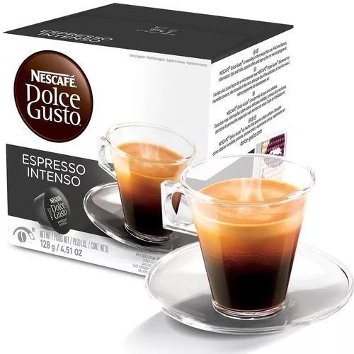 Kit 3 Caixas Nescafé Dolce Gusto Espresso Intenso 48 Caps