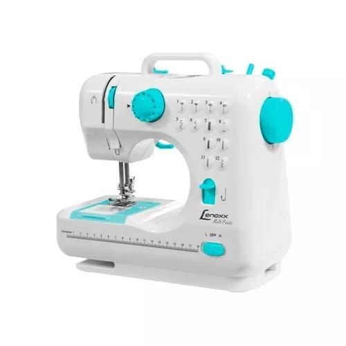 Máquina De Costura Lenoxx Psm101 Portátil Bivolt 12 Pontos