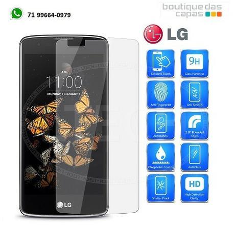 Película de vidro temperado LG K11 e K11+ K11 PLUS x410