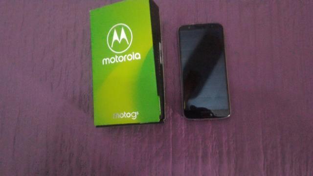 "Smartphone Motorola Moto G6 XTGB Preto 4G Tela 5,7"""