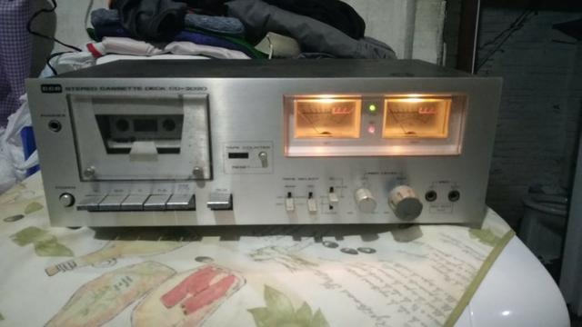 Tape Deck CCE aparelho de som antigo/Vintage