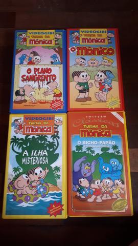 Coleção VHS Turma da Mônica