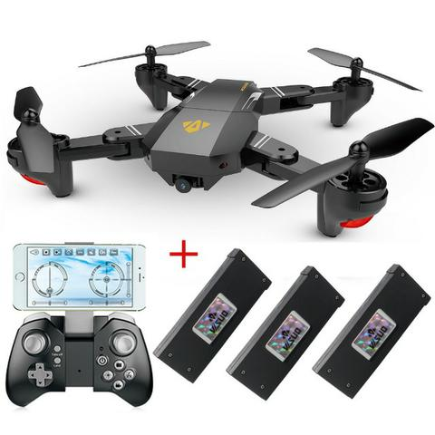 Drone Visuo XS809HW - Câmera WiFi Hd, 3 baterias,