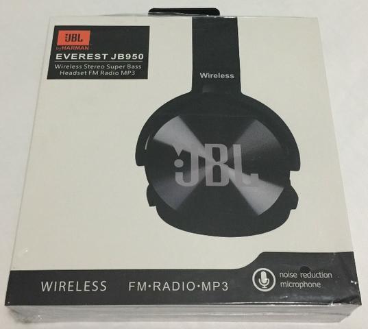 Fone de Ouvido Headset JBL Bluetooth 950BT Novo na Caixa