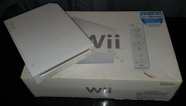 Vídeo-game Nintendo Wii Completão Usado
