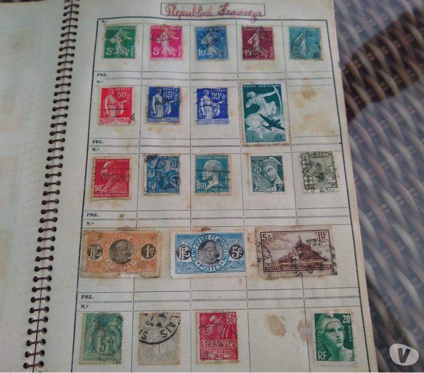 Vendo coleção de selos antigos em ótimo estado