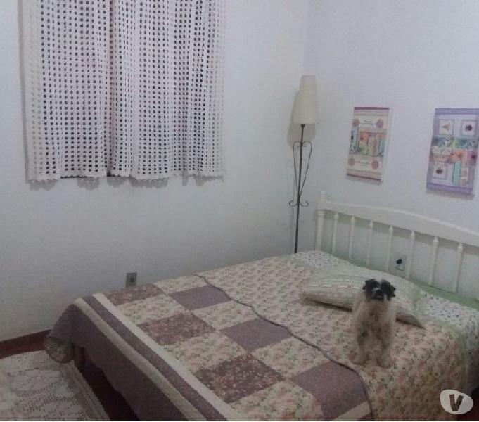 Apto.3 dorm.suite frente no Calçadão térreo 50m do mar