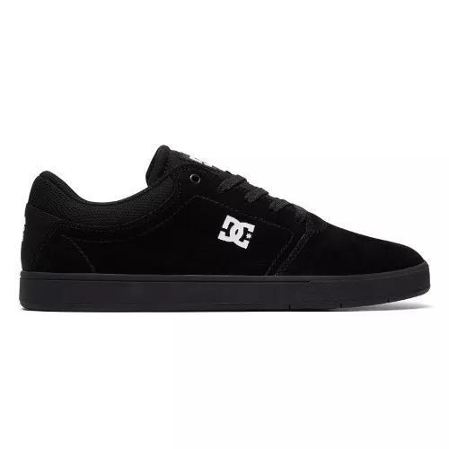 Tênis Dc Shoes Crisis La Black White Camurça