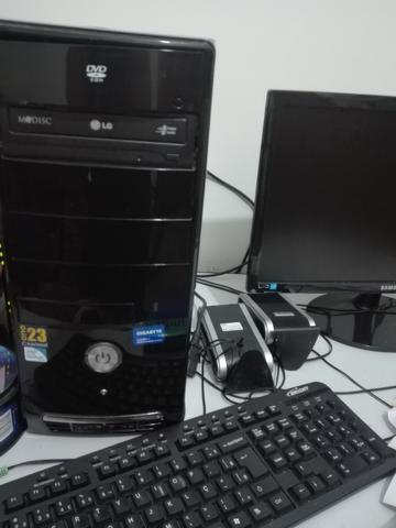 Computador Pentium seminovo- completo _ barato