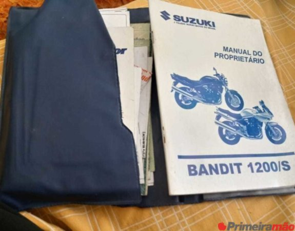 Suzuki Bandit S - Venda ou troca por carro ou moto -