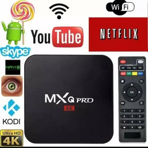 TV box mxq pro 2ram 16interna transforme sua TV em smart