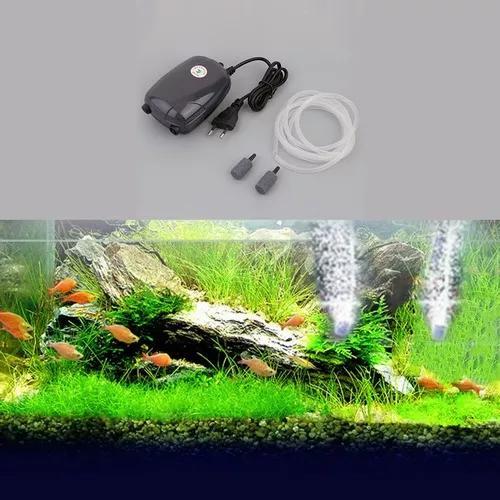Tanque De Peixe Aquário Lagoa Bomba Hidropônico Oxigênio