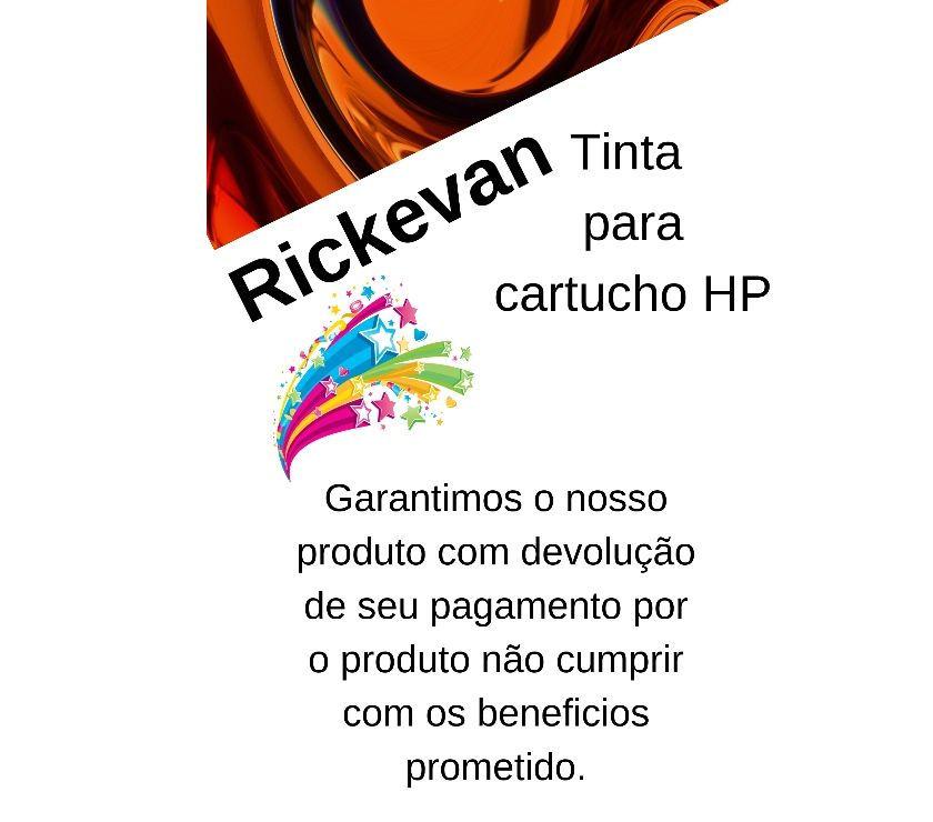 Tintas: Kit - 4 X 100ml - Para Recarga De Cartucho Hp