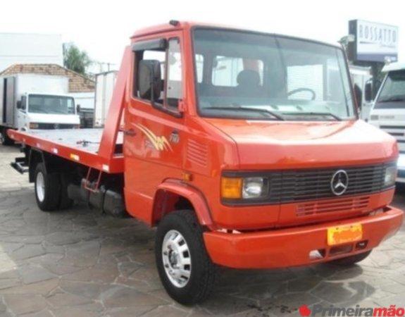 caminhão mb 710 ano  guincho