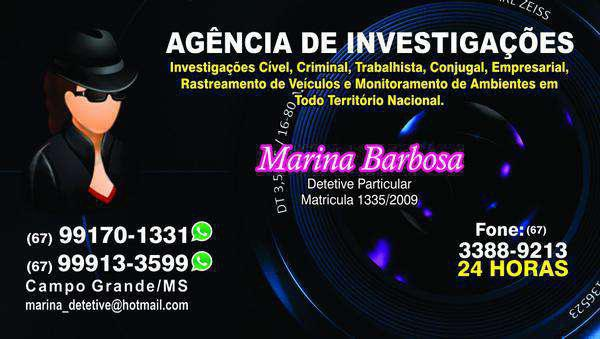 Detetive | Detetive Particular | Detetive em Campo Grande Ms