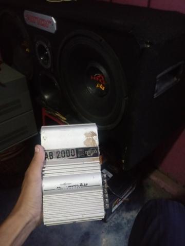 Módulo, Bateria e caixa de som