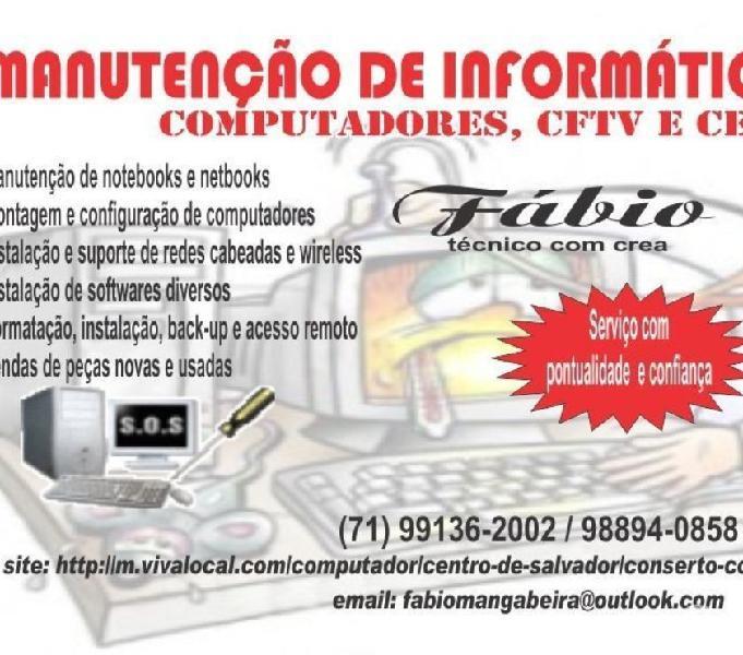 Tecnico de Manutencao de Impressora e Informatica em geral