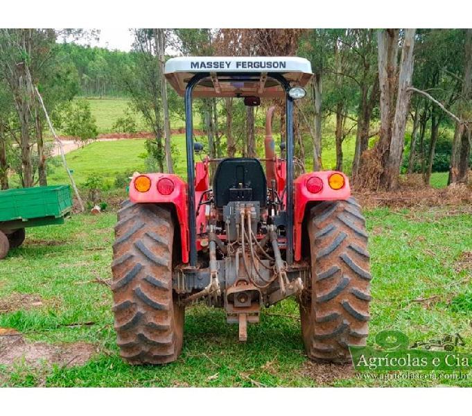 Trator Massey Ferguson 4275 4x4 (Lamina e Concha Tatu!)