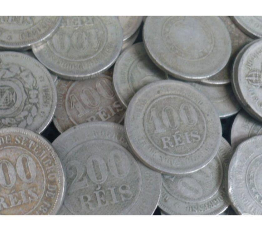 Vendo + de 1 Quilo de moedas antigas pratas, cobre, bronze