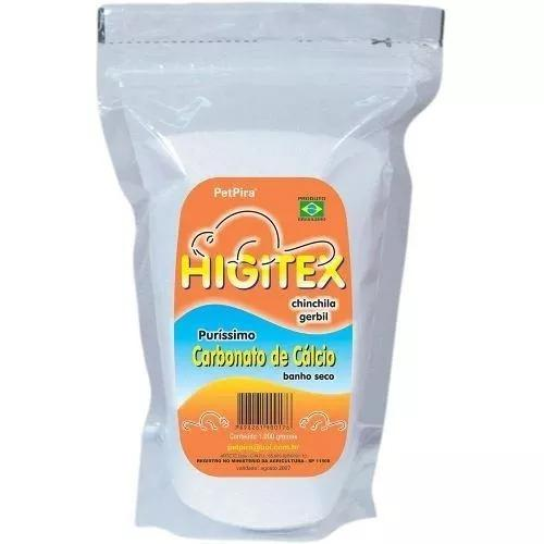 Banho A Seco Para Chinchila 1kg - Higitex Pet Pira (2unid)