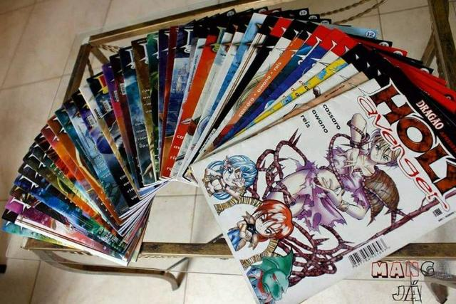Coleção completa mangá Rpg Holy Avenger