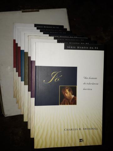 Coleção de livros Heróis da fé.