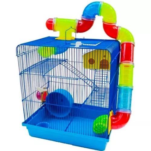 Gaiola De Hamster Labirinto 3 Andares Completa Melhor Dtodas
