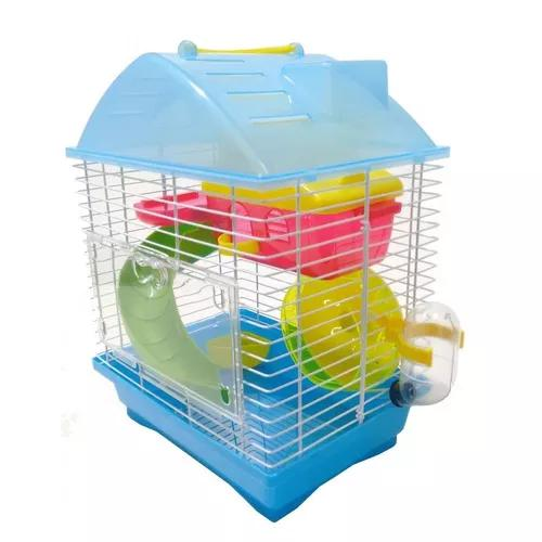 Gaiola Hamster Playground Luxo Completa Mix - H726