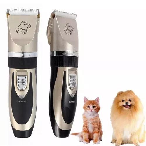 Kit Maquina Tosa Tosquiadeira Profissional Cães Gatos Pet