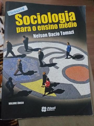 Livro de Sociologia para Ensino Médio, volume único