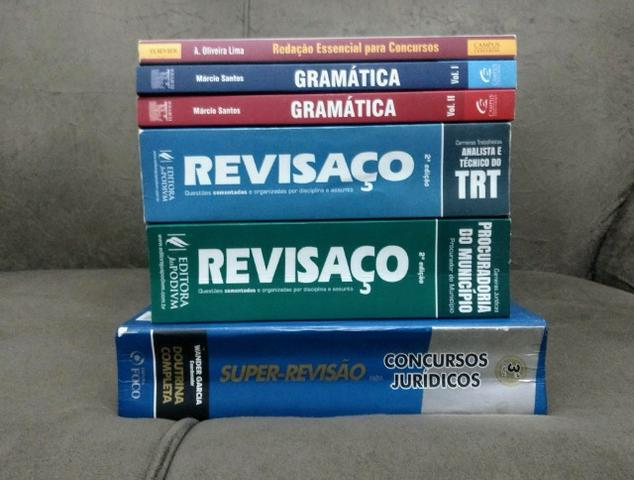 Livros para concurso público: Revisaço/ Super-Revisão/