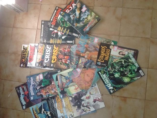 Lote de Quadrinhos e Mangas (Batman, Fullmetal Alchemist,
