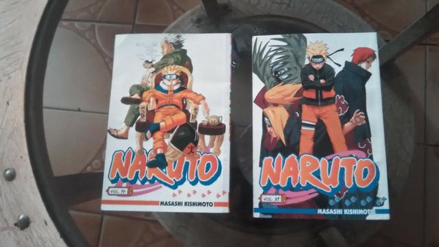 Mangá Naruto Volume 14 E 31