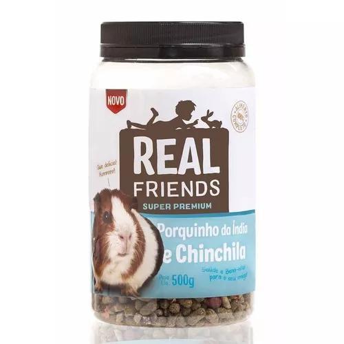 Realfriends Porquinho Da India E Chinchila - 500 Gramas