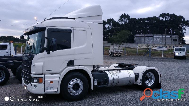 Scania P 360 Opticruze 4x2 2014 Branca