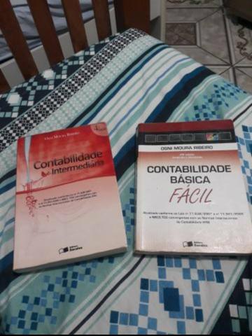 Vendo 2 livros de contabilidade